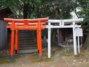お菊稲荷神社・白龍龍神(桑名市矢田)