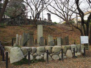 愛宕山庚申碑(走井山公園)